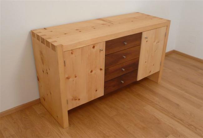 Impressionen for Kommode zirbenholz